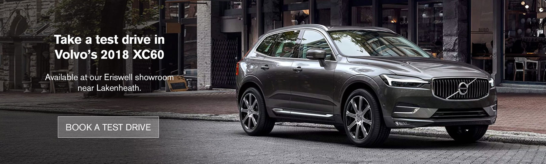 Test drive a Volvo XC60
